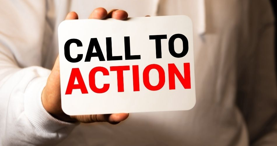 A call-to-action button