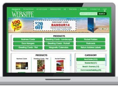 Branded Printing Website